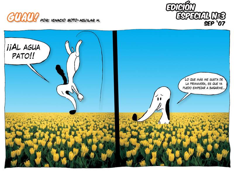 EDICI�N ESPECIAL N� 3 � Primavera | GUAU! COMIC | v.3.0 |