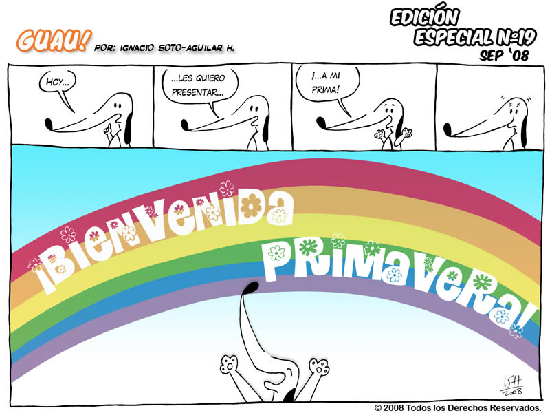 EDICI�N ESPECIAL N� 19 � �Bienvenida Primavera!   GUAU! COMIC   v ...